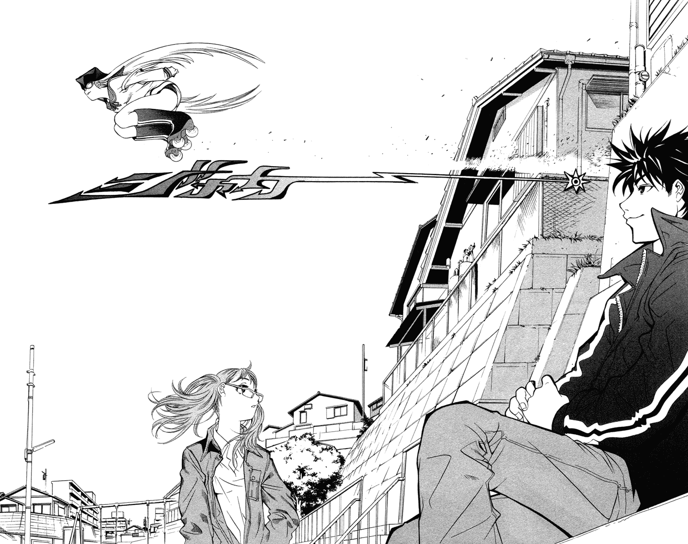 Манга Эйр Гир / Air Gear  - Том 1 Глава 1 Страница 31