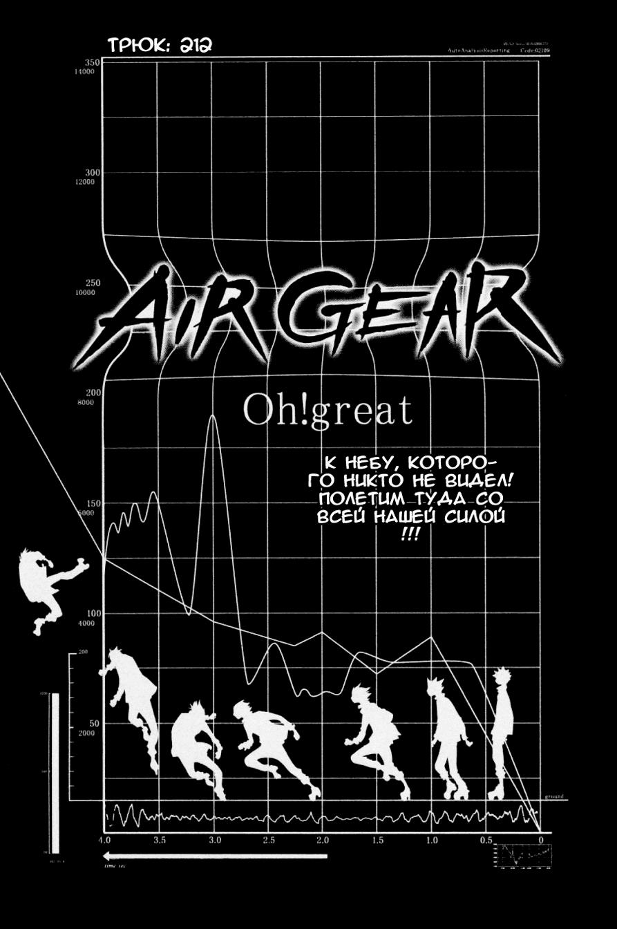 Манга Эйр Гир / Air Gear  - Том 23 Глава 212 Страница 2