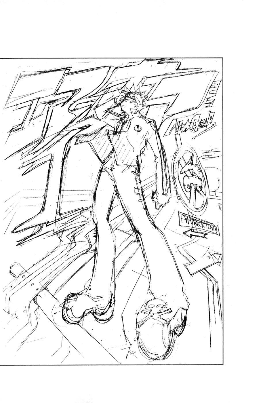 Манга Эйр Гир / Air Gear  - Том 4 Глава 32 Страница 22