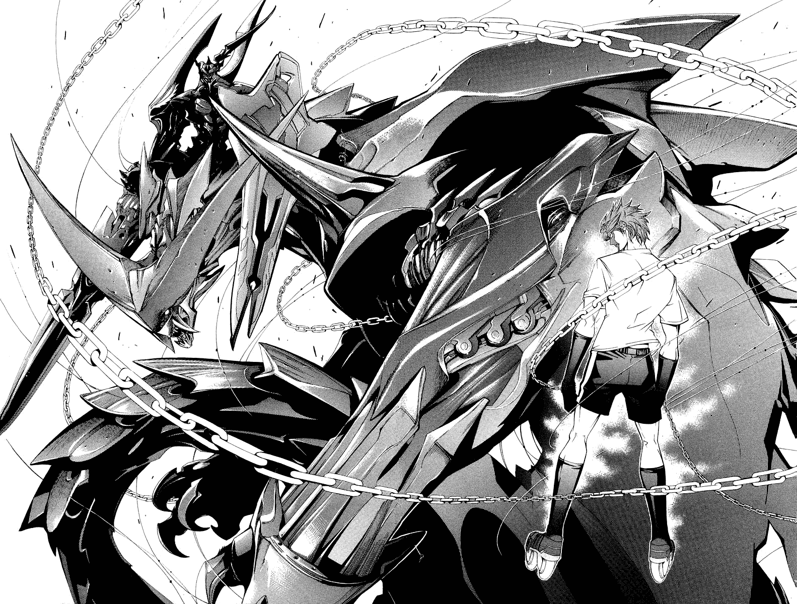 Манга Эйр Гир / Air Gear  - Том 8 Глава 67 Страница 4