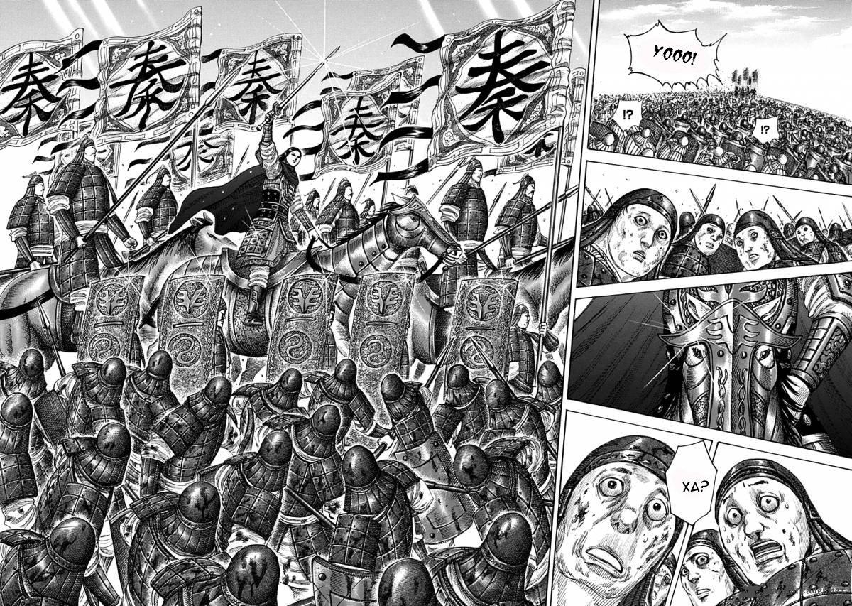 Манга Царство / Kingdom  - Том 32 Глава 343 Страница 10