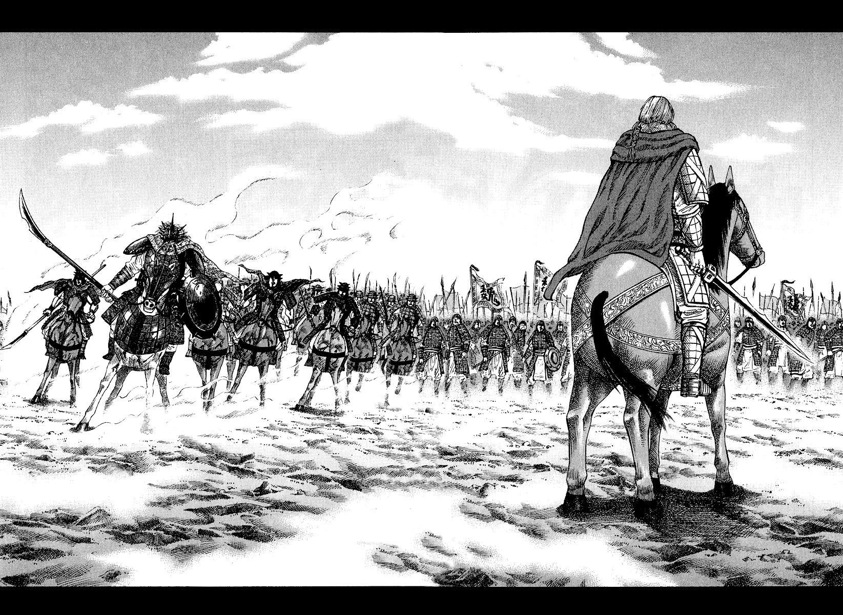 Манга Царство / Kingdom  - Том 7 Глава 70 Страница 15