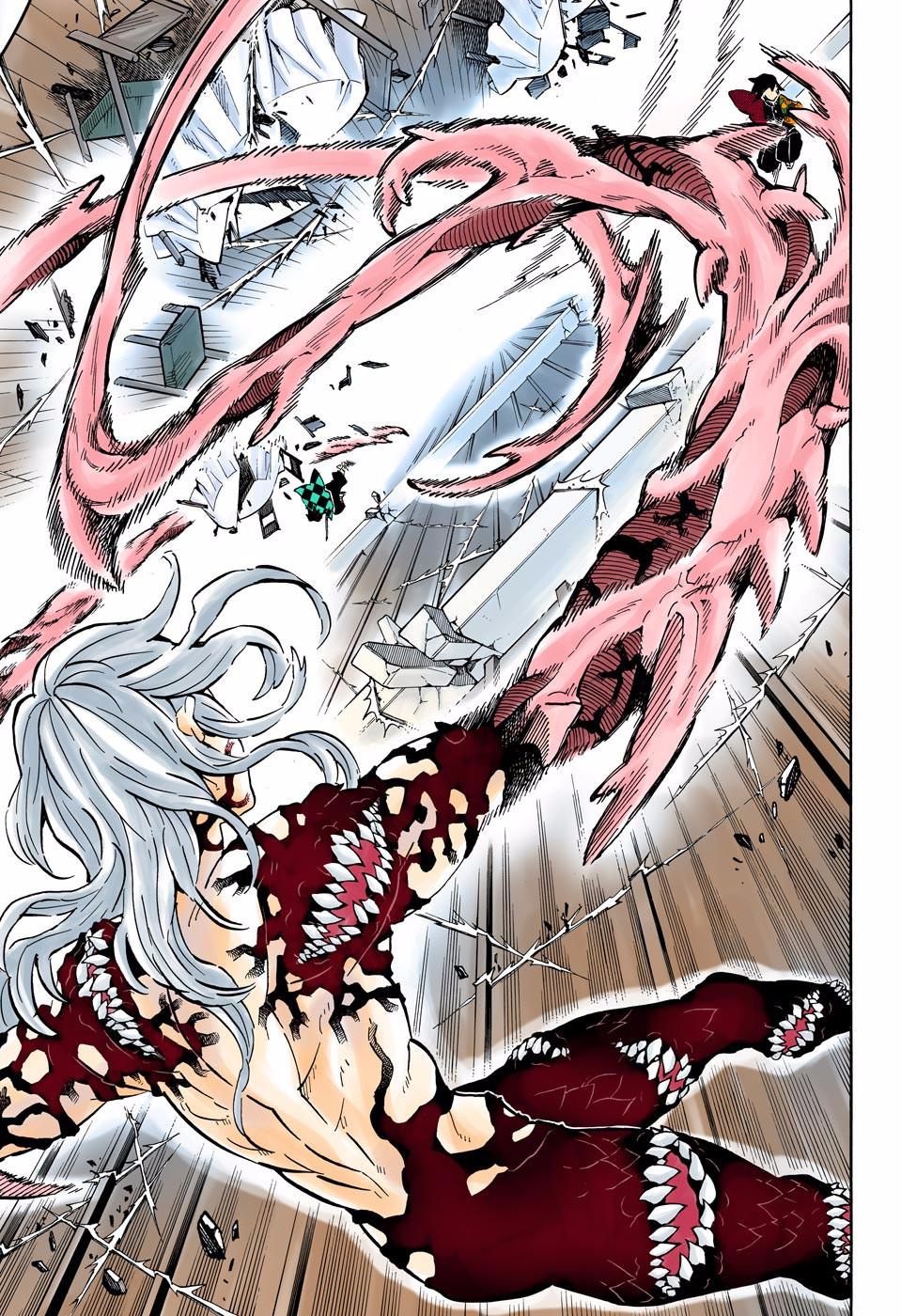 Манга Клинок, рассекающий демонов (цветная версия)  - Том 21 Глава 182 Страница 6