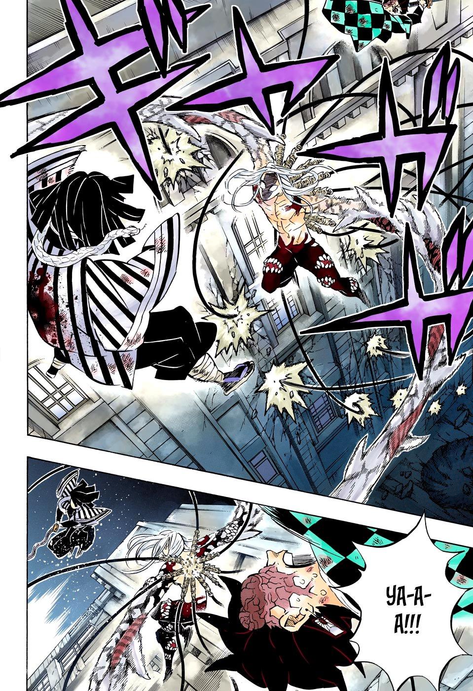 Манга Клинок, рассекающий демонов (цветная версия)  - Том 22 Глава 194 Страница 12