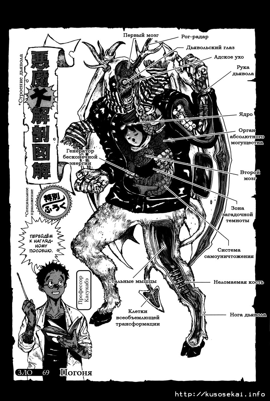 Манга Дорохедоро / Dorohedoro - Том 12 Глава 69 Страница 1