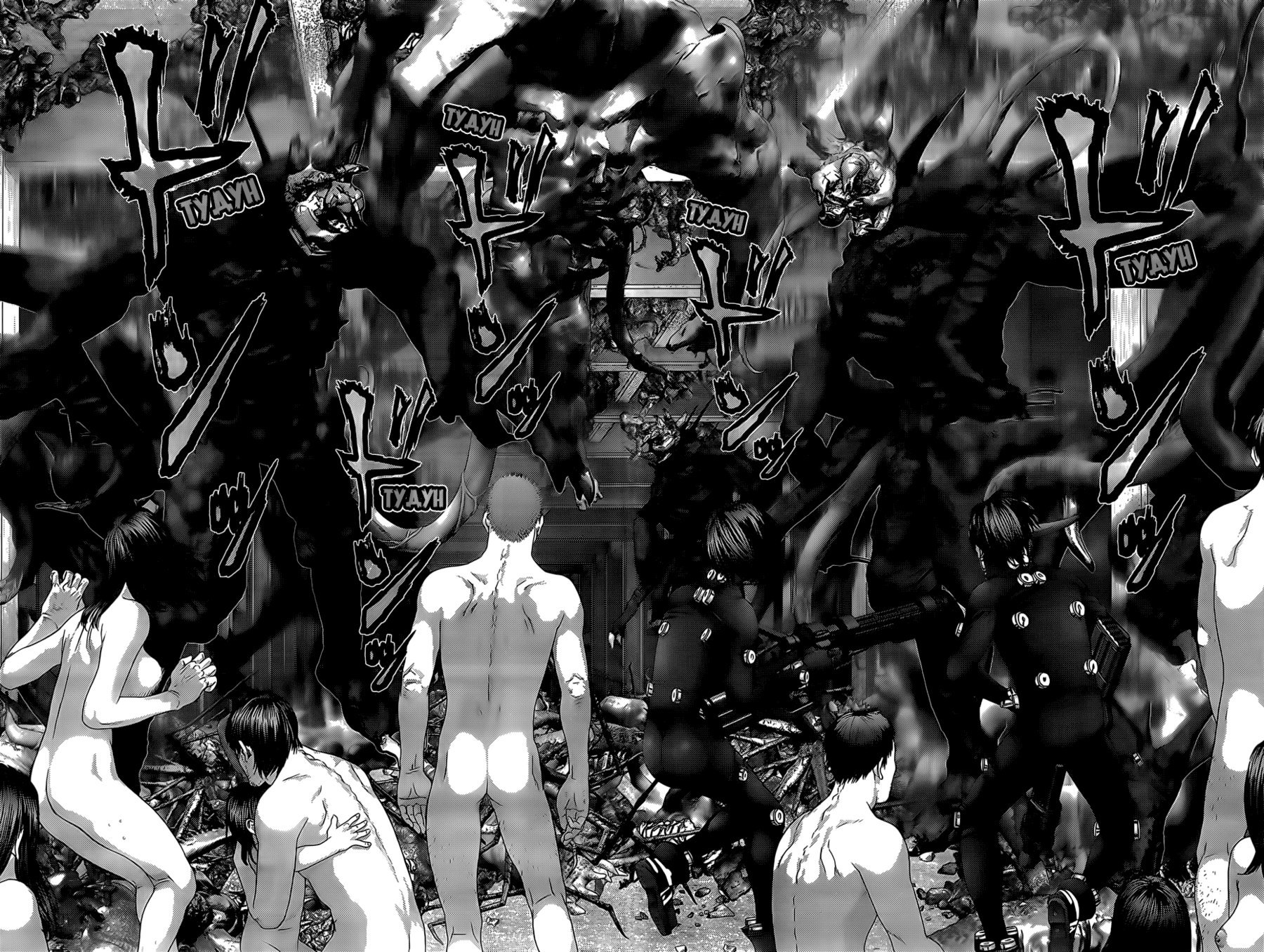 Манга Ганц / Gantz  - Том 33 Глава 351 Страница 10