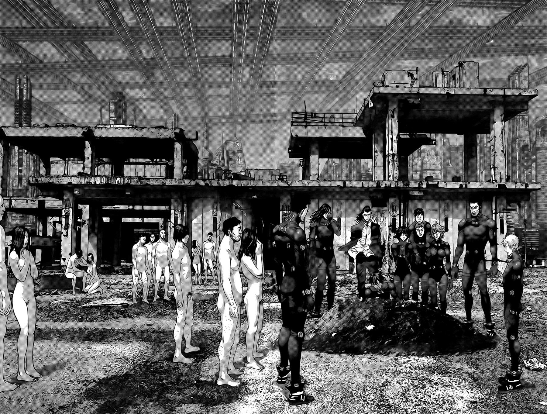 Манга Ганц / Gantz  - Том 34 Глава 358 Страница 10
