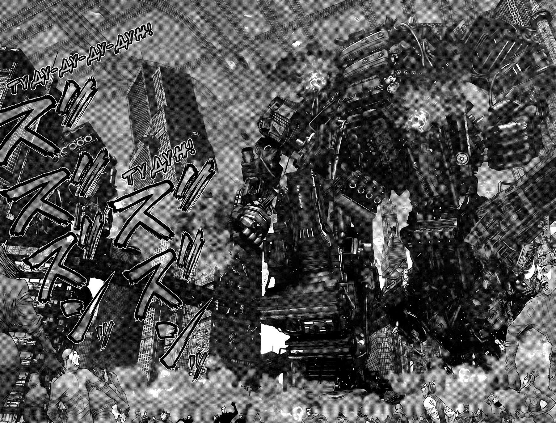 Манга Ганц / Gantz  - Том 34 Глава 358 Страница 11