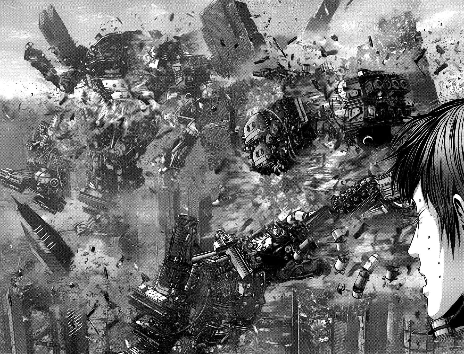 Манга Ганц / Gantz  - Том 34 Глава 361 Страница 9