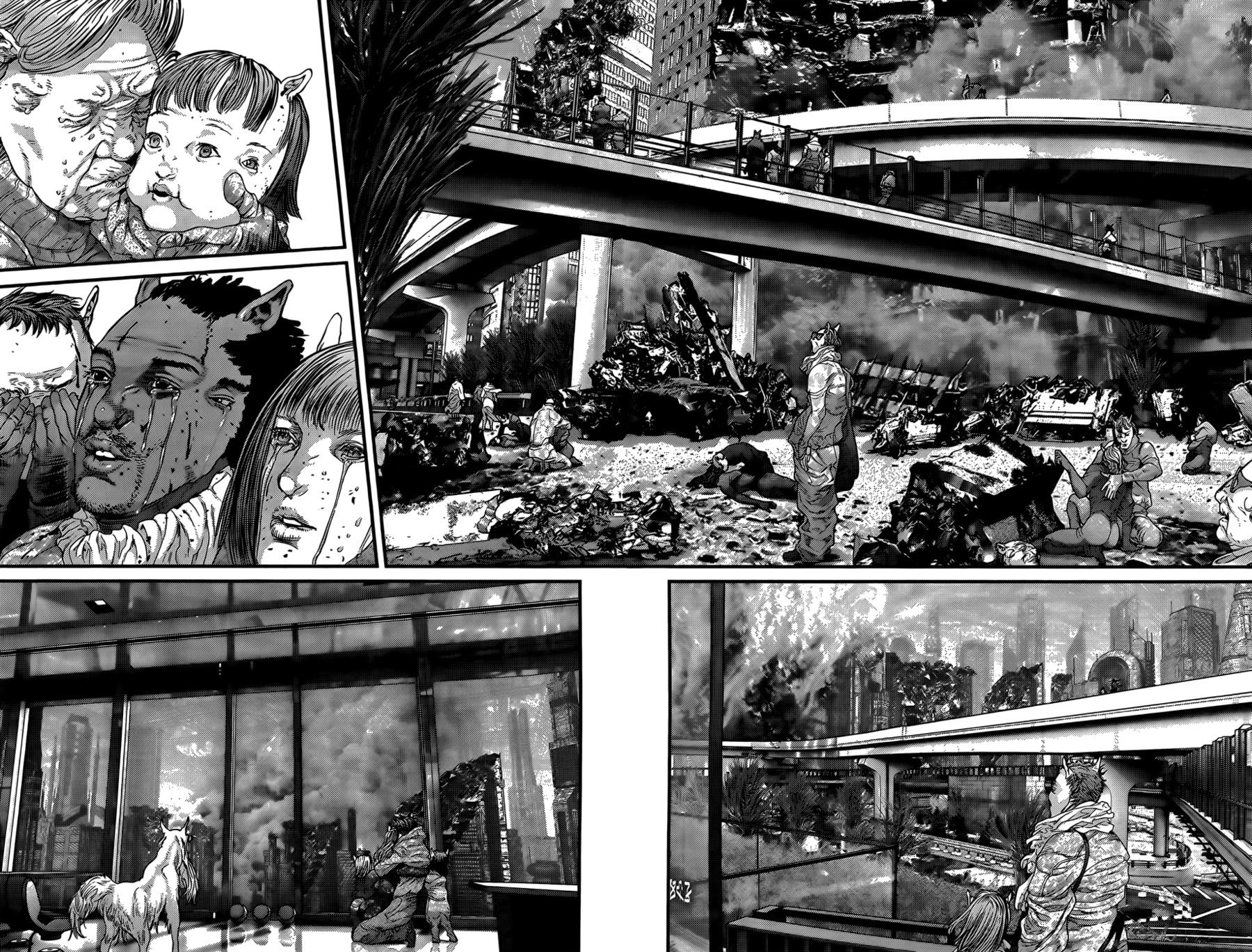 Манга Ганц / Gantz  - Том 35 Глава 365 Страница 17