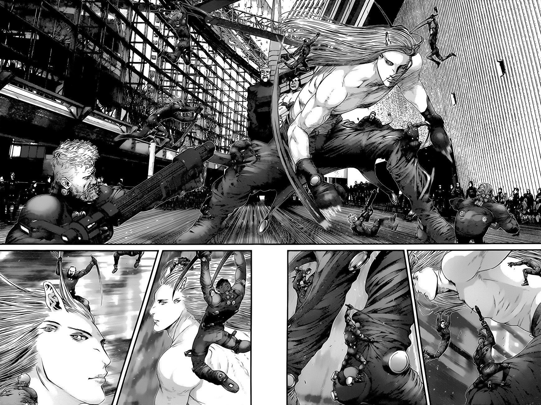 Манга Ганц / Gantz  - Том 36 Глава 376 Страница 16