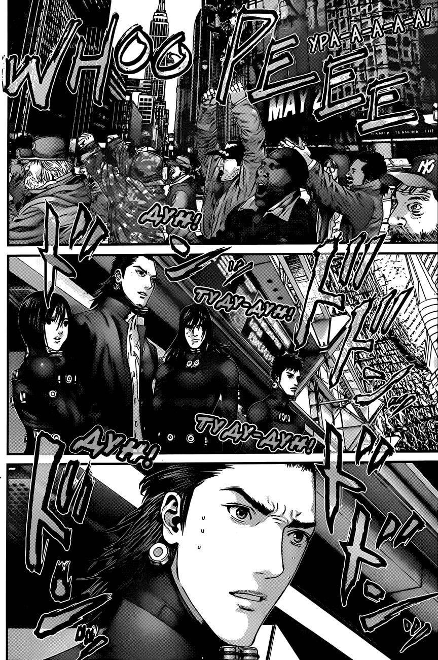 Манга Ганц / Gantz  - Том 36 Глава 376 Страница 17