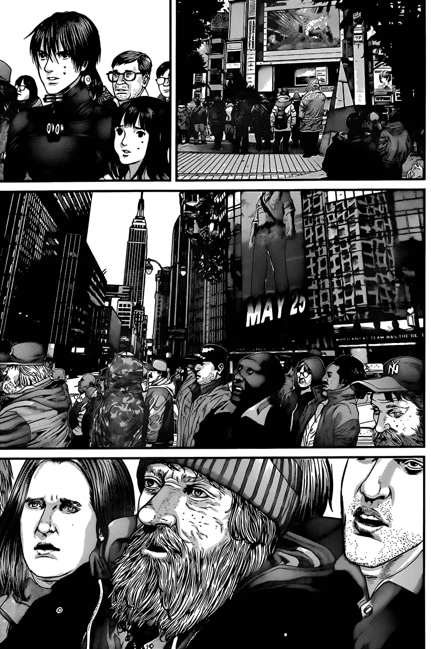 Манга Ганц / Gantz  - Том 36 Глава 376 Страница 18