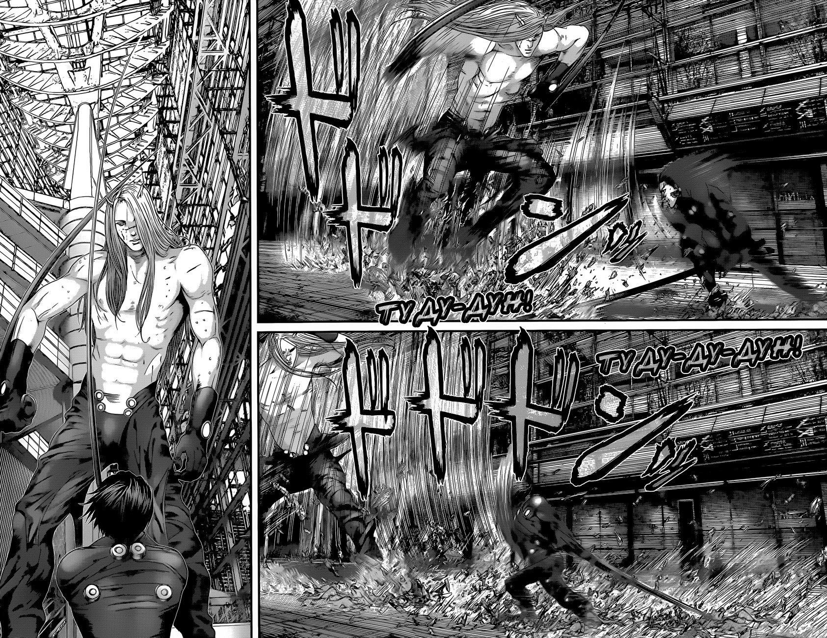 Манга Ганц / Gantz  - Том 37 Глава 380 Страница 17