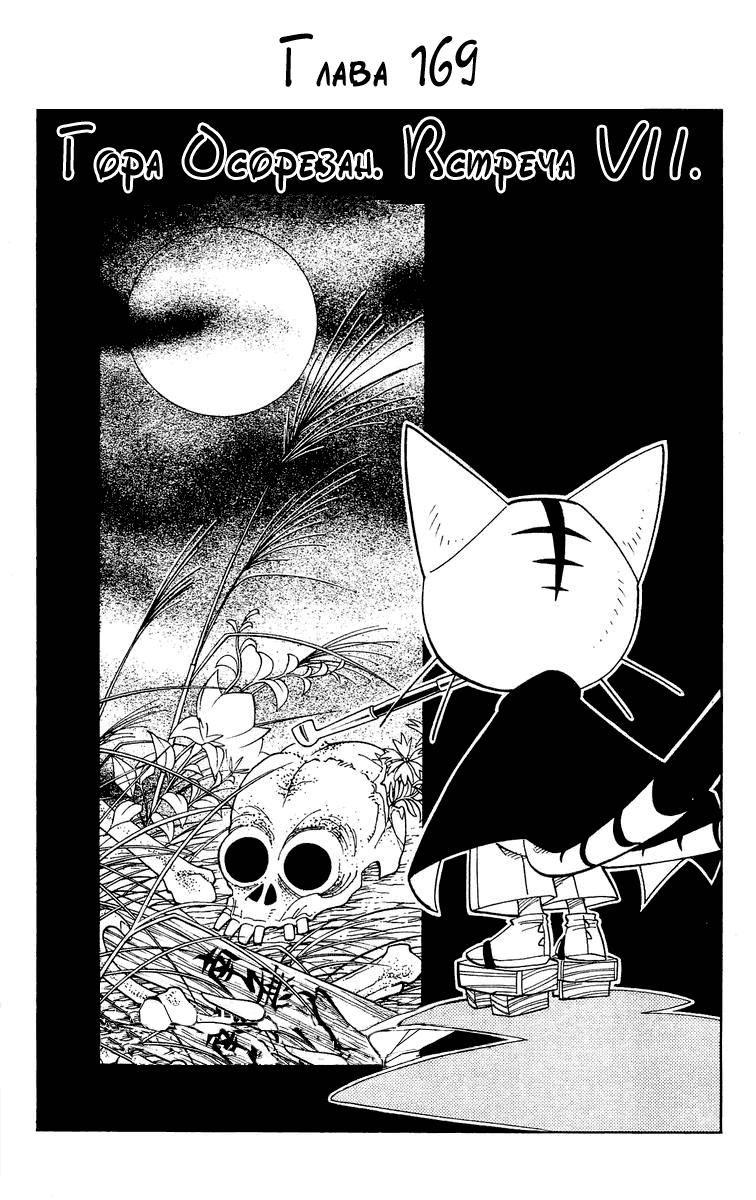 Манга Король-шаман / Shaman King  - Том 19 Глава 169 Страница 3