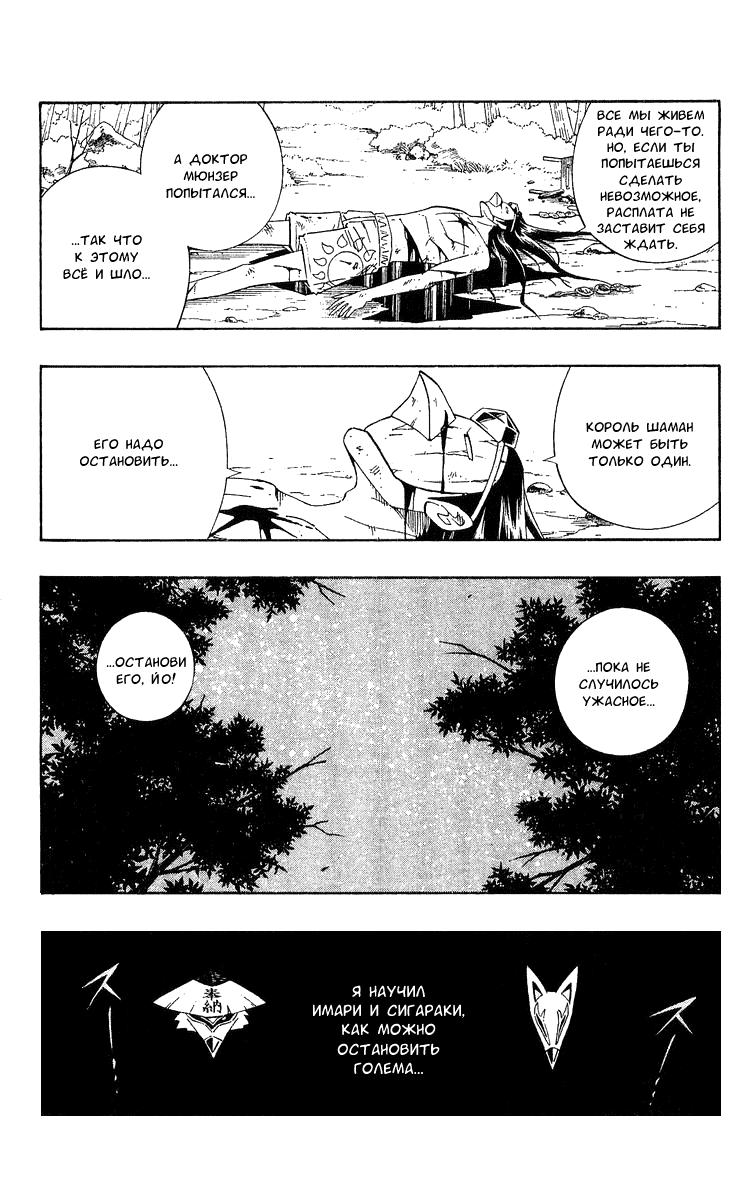 Манга Король-шаман / Shaman King  - Том 23 Глава 202 Страница 6