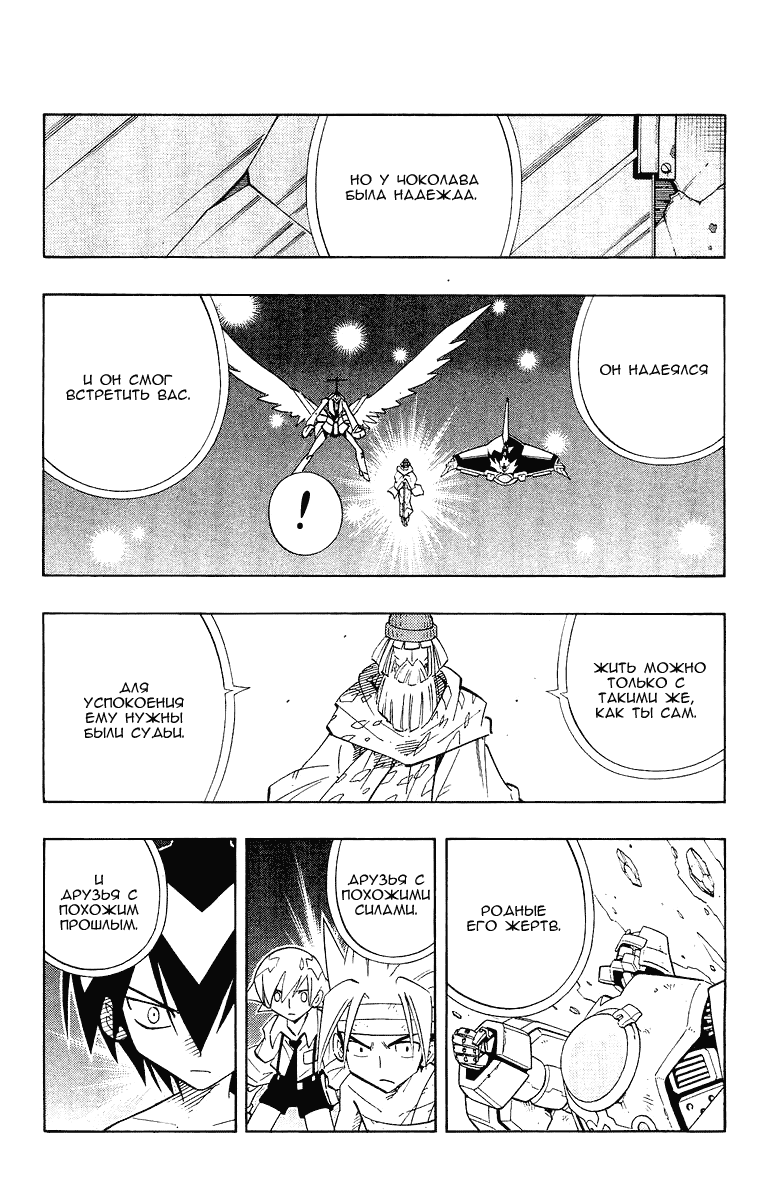 Манга Король-шаман / Shaman King  - Том 23 Глава 204 Страница 10