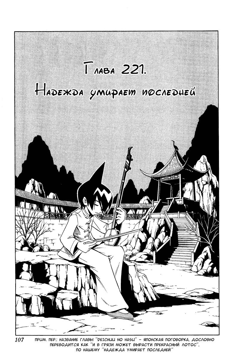 Манга Король-шаман / Shaman King  - Том 25 Глава 221 Страница 3