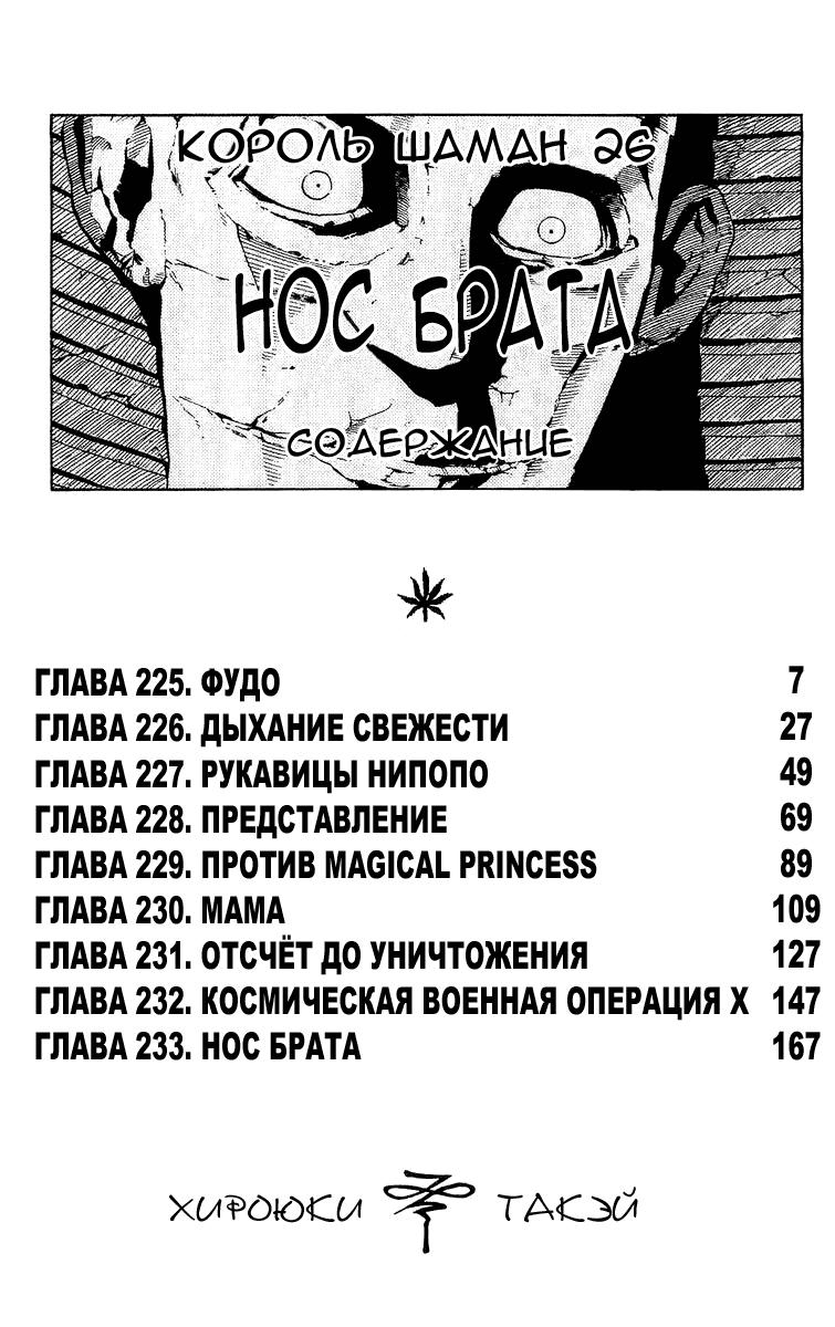 Манга Король-шаман / Shaman King  - Том 26 Глава 225 Страница 4