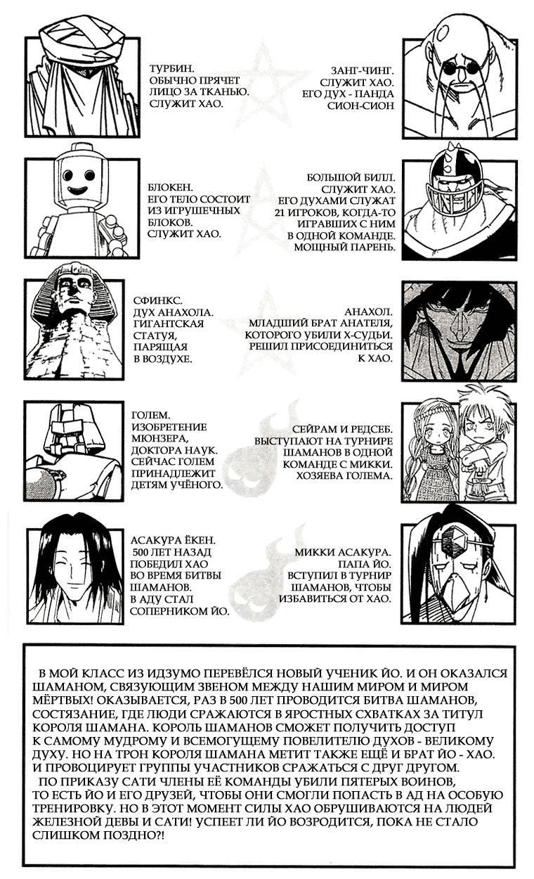 Манга Король-шаман / Shaman King  - Том 28 Глава 240 Страница 8