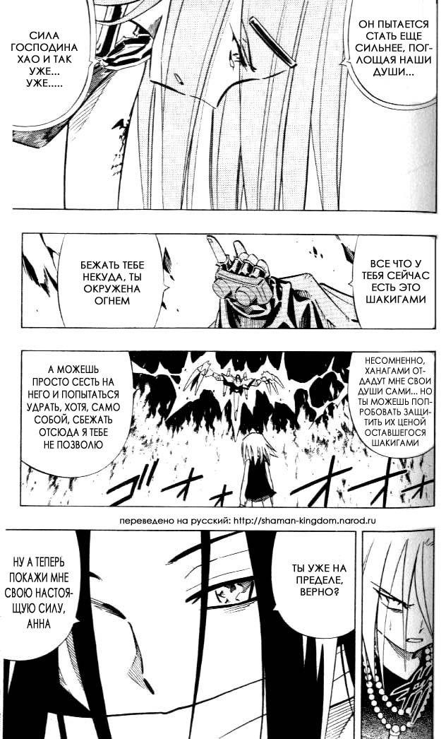 Манга Король-шаман / Shaman King  - Том 29 Глава 250 Страница 13