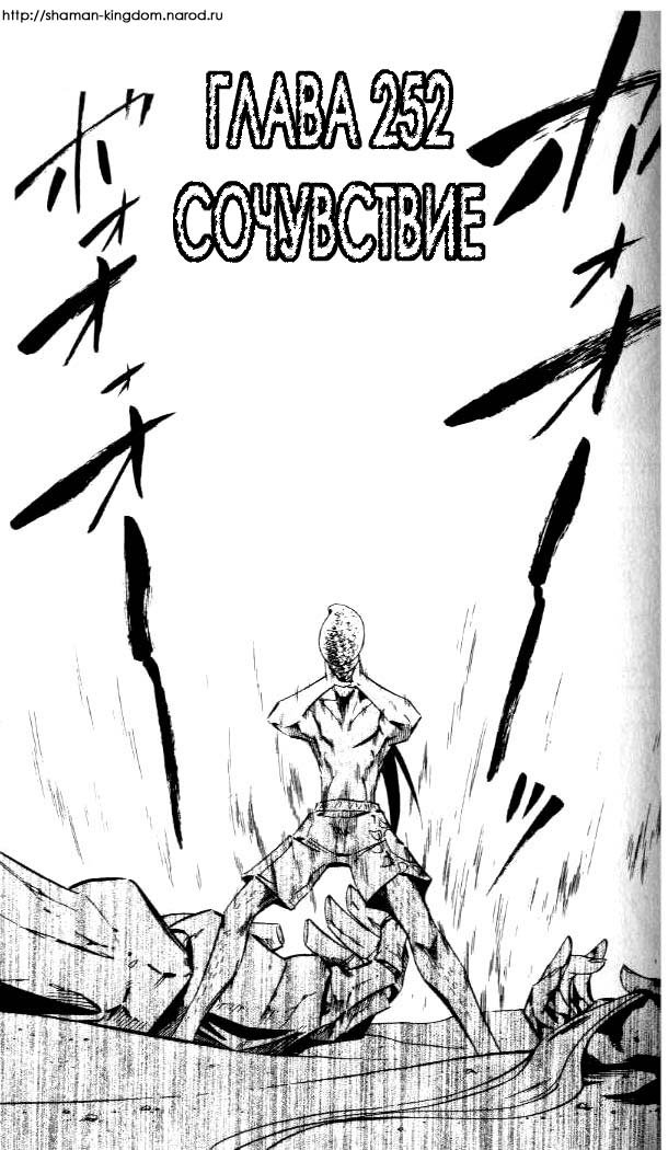 Манга Король-шаман / Shaman King  - Том 29 Глава 252 Страница 3