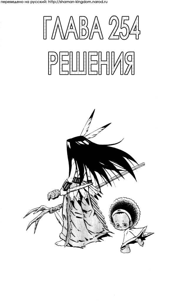 Манга Король-шаман / Shaman King  - Том 29 Глава 254 Страница 3