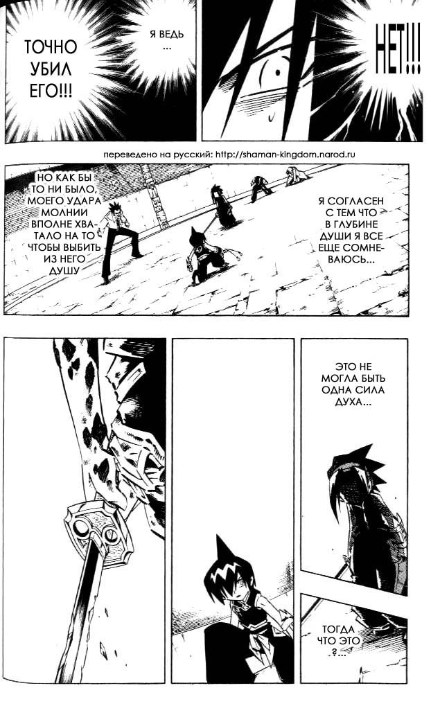 Манга Король-шаман / Shaman King  - Том 29 Глава 256 Страница 10