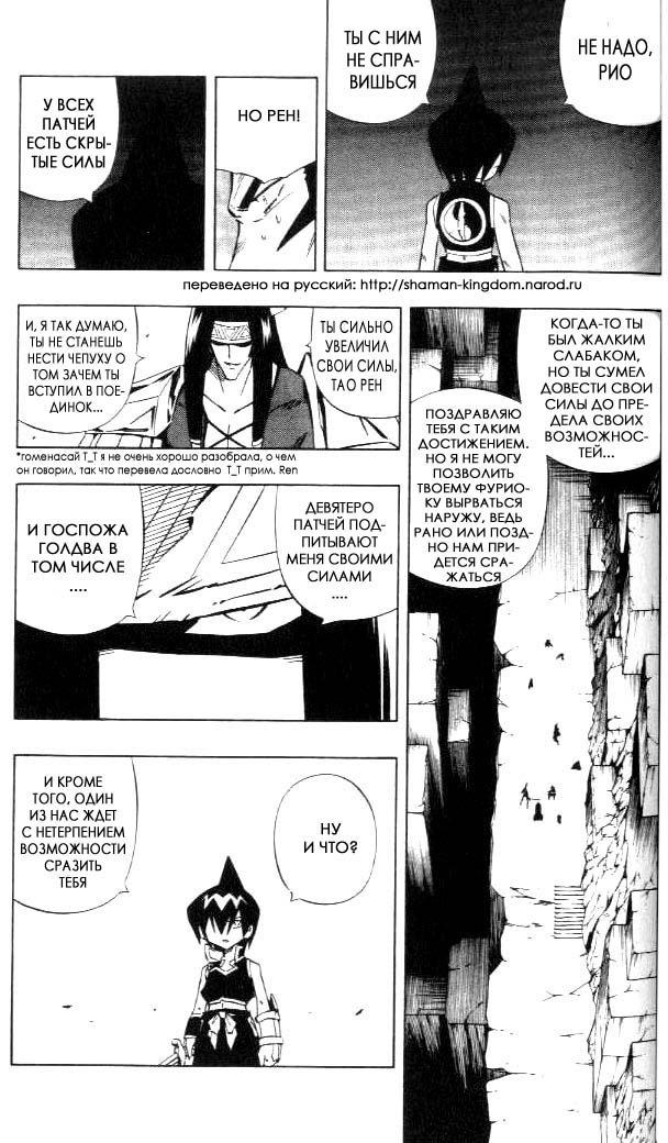 Манга Король-шаман / Shaman King  - Том 30 Глава 265 Страница 17