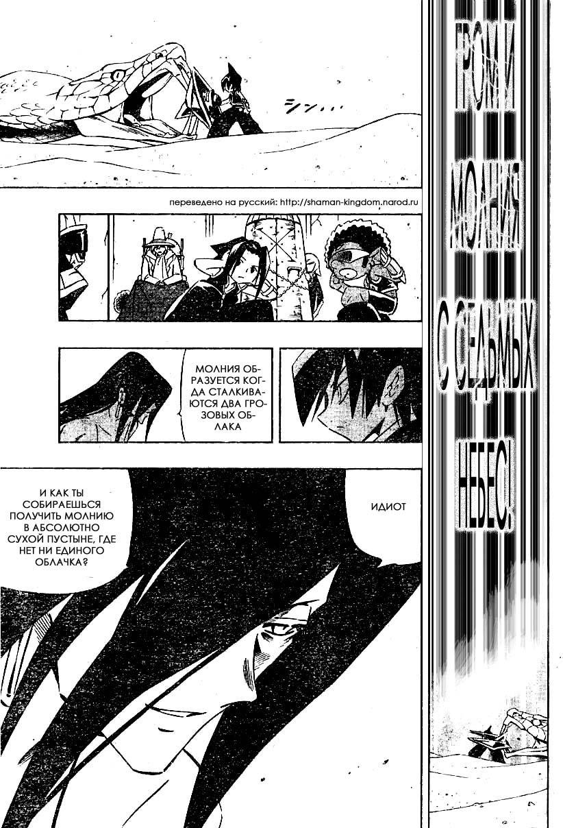 Манга Король-шаман / Shaman King  - Том 31 Глава 267 Страница 17