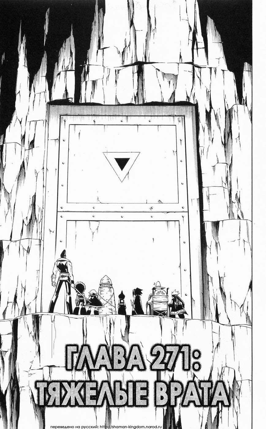 Манга Король-шаман / Shaman King  - Том 31 Глава 271 Страница 3