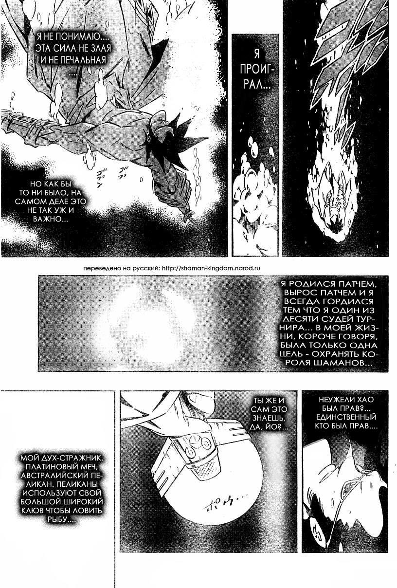 Манга Король-шаман / Shaman King  - Том 32 Глава 281 Страница 14
