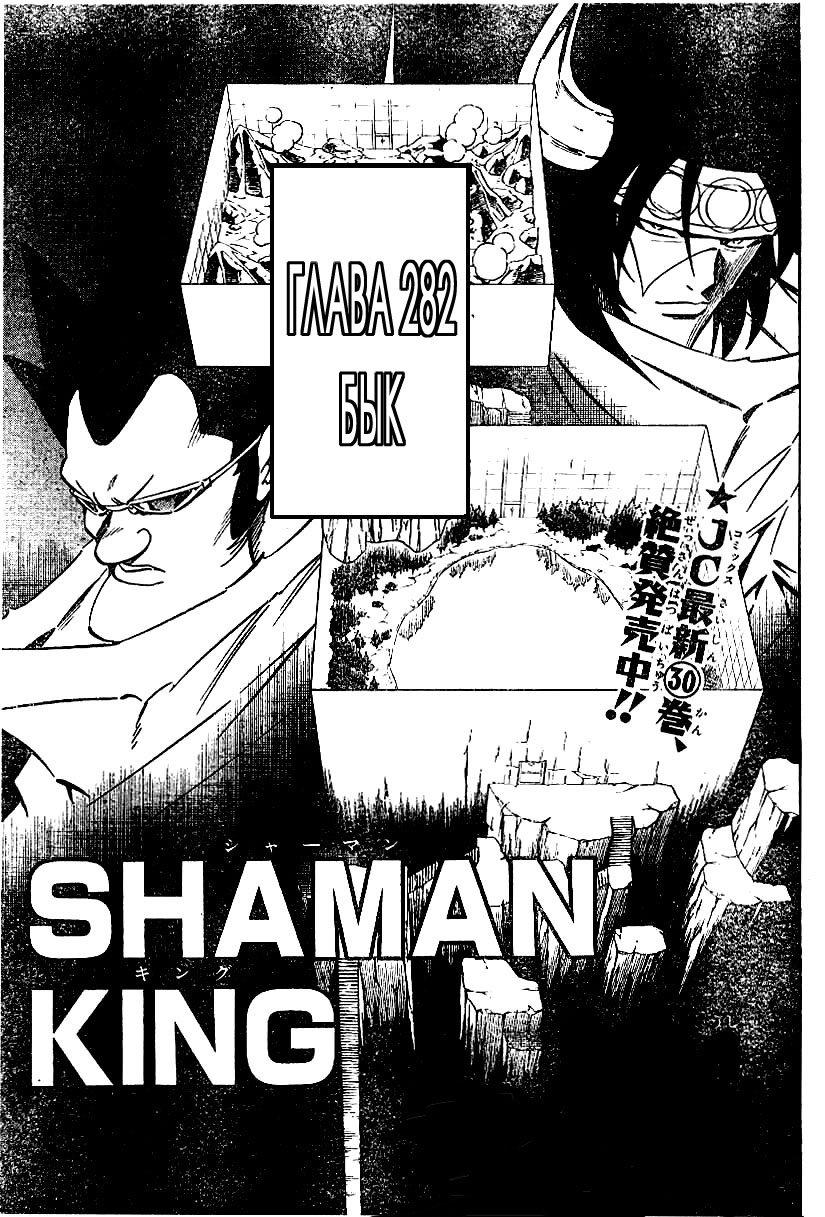 Манга Король-шаман / Shaman King  - Том 32 Глава 282 Страница 5