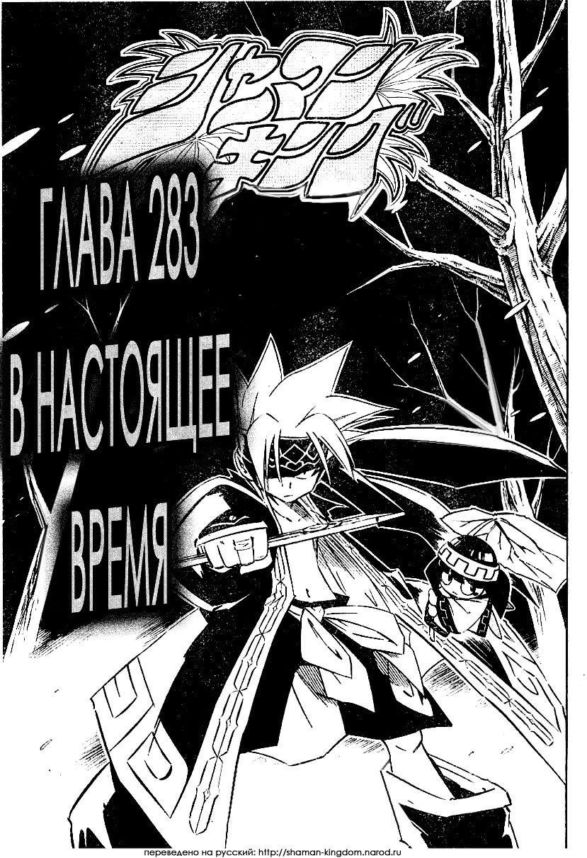 Манга Король-шаман / Shaman King  - Том 32 Глава 283 Страница 5