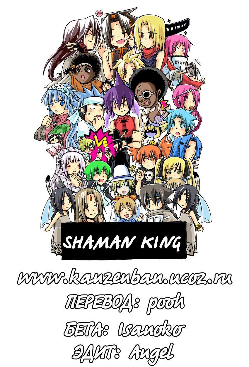 Манга Король-шаман / Shaman King  - Том 33 Глава 291 Страница 1