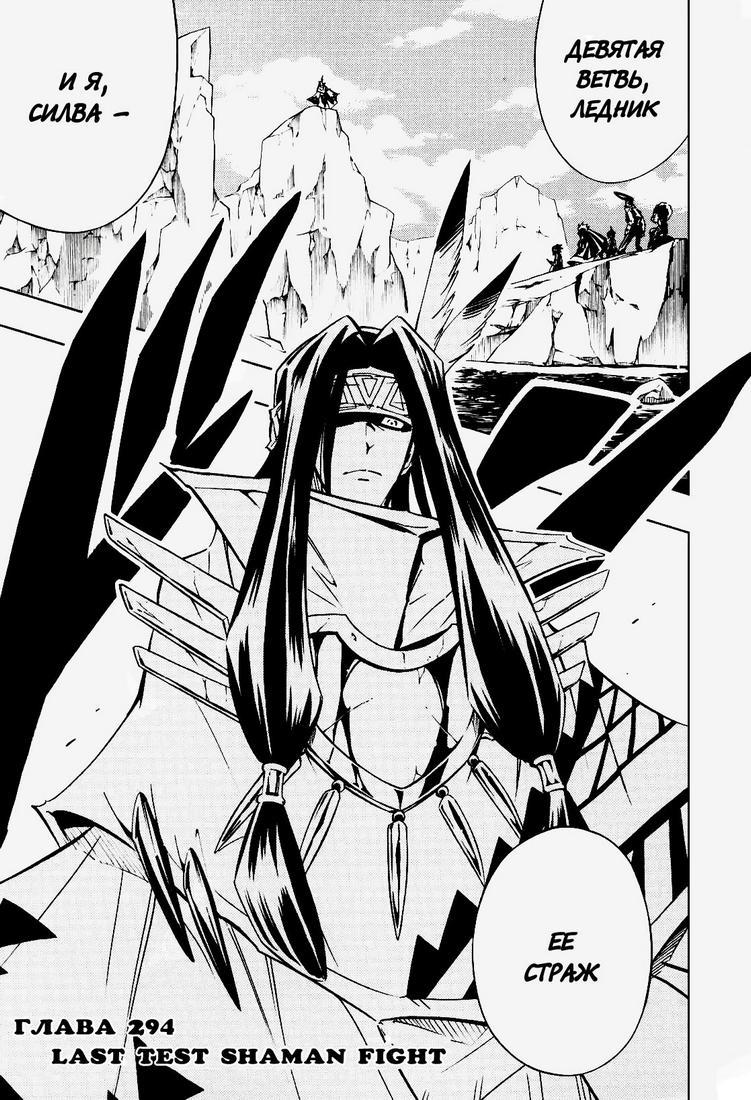 Манга Король-шаман / Shaman King  - Том 33 Глава 294 Страница 2