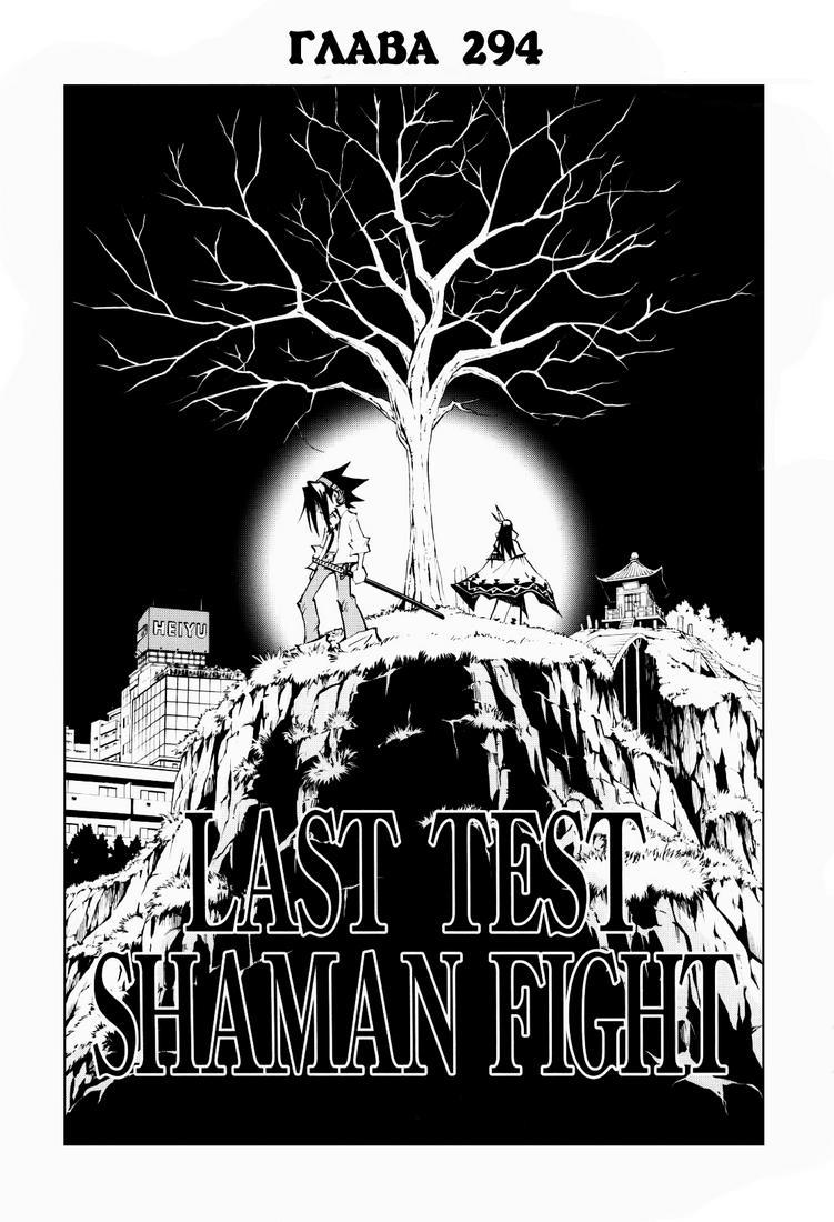 Манга Король-шаман / Shaman King  - Том 33 Глава 294 Страница 4