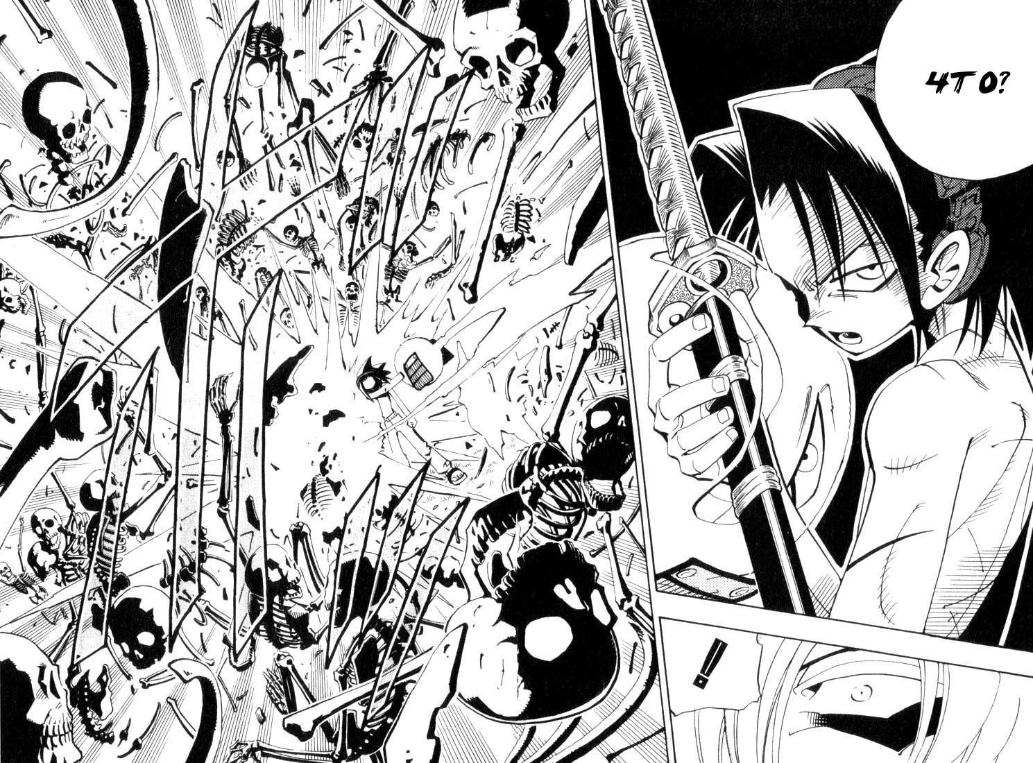 Манга Король-шаман / Shaman King  - Том 5 Глава 41 Страница 14