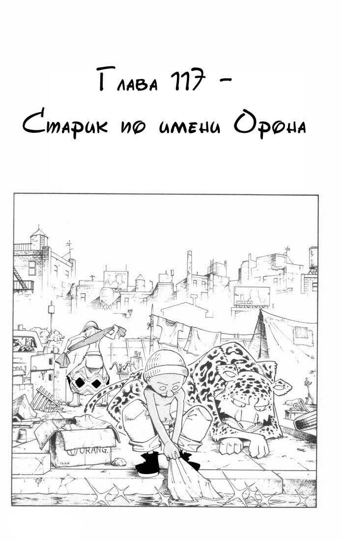 Манга Король-шаман / Shaman King  - Том 14 Глава 117 Страница 5