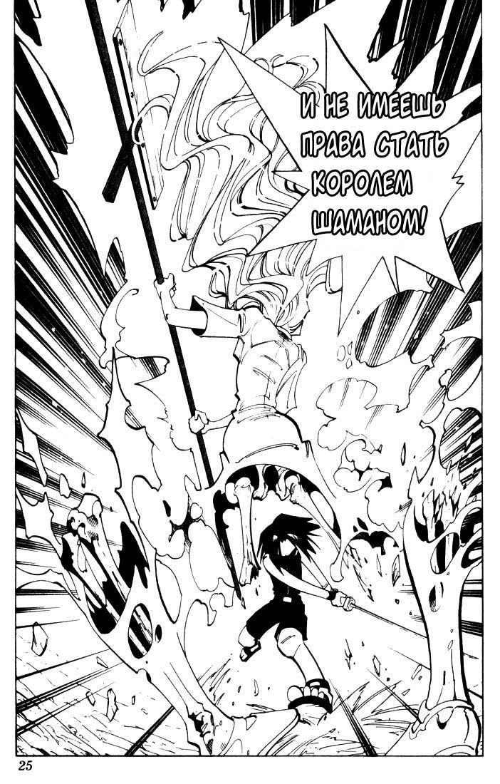 Манга Король-шаман / Shaman King  - Том 6 Глава 45 Страница 23